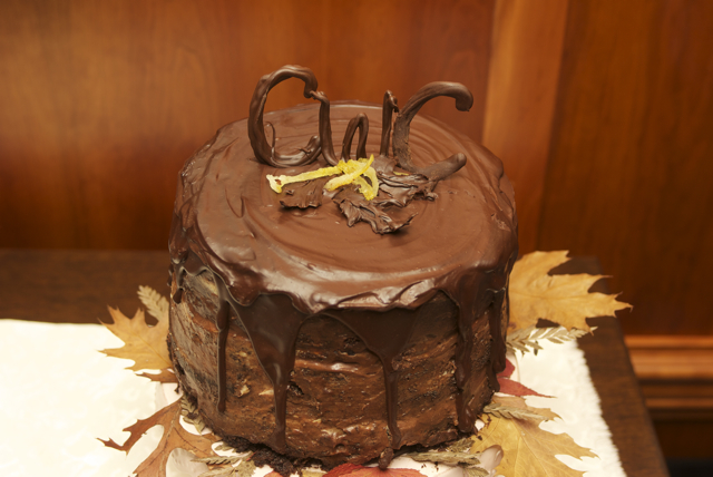 Chocolate Cake painstakingly made by my Momma